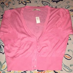 Old Navy Cropped Cardigan size large New with tags